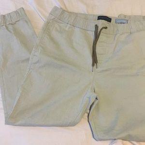 Aeropostale Pants - Khaki Aeropostale joggers